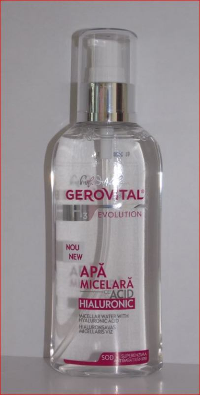 MICELLAR WATER WITH HYALURONIC ACID, 150 ml